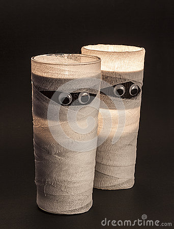Halloween glasses decor