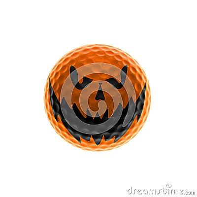 Free Halloween Golf-ball Stock Photos - 11310783