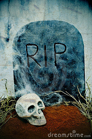 Free Halloween Grave Royalty Free Stock Photography - 16365227