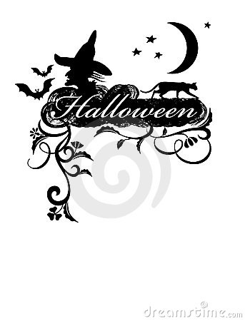 Halloween. Greeting Card.
