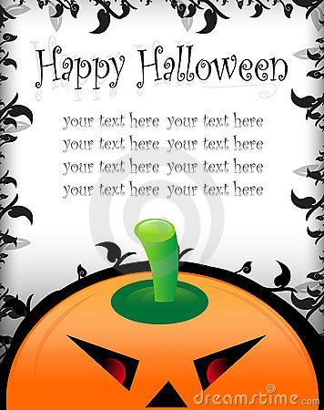 Halloween greeting/invitation card