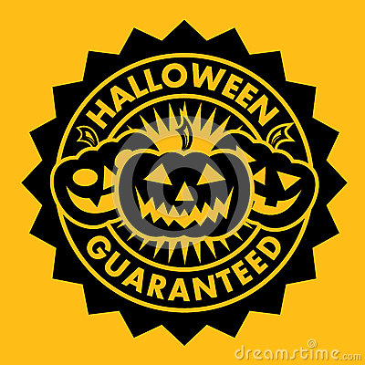 Halloween Guaranteed Pumpkin Seal