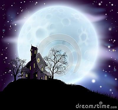 Free Halloween Haunted House Stock Photo - 49820200