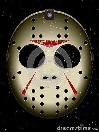 Halloween Hockey Mask