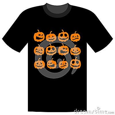 Free Halloween Holiday, T-shirt Design Stock Image - 10658101