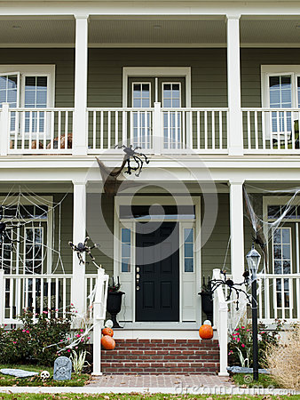 Free Halloween Home Stock Images - 27328204