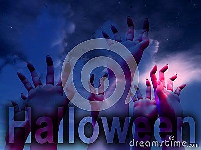 Halloween Horror Hands