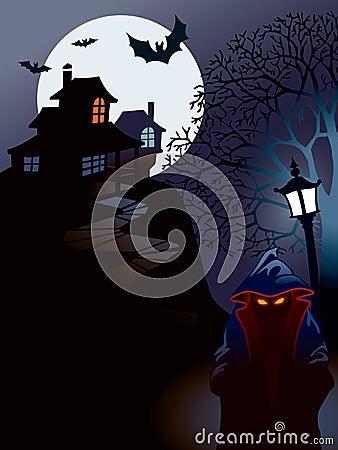 Free Halloween House Royalty Free Stock Photos - 3163128