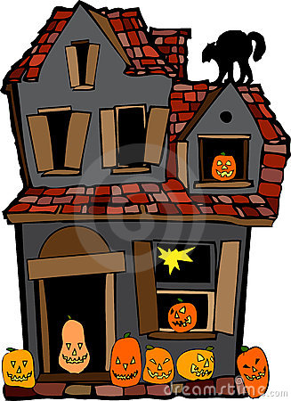 Free Halloween House Royalty Free Stock Photography - 9297777