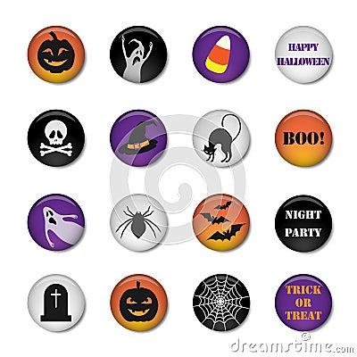 Halloween icons