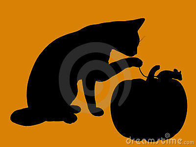 Halloween Illustration silhouette