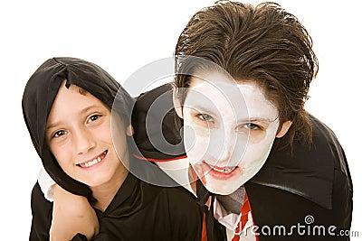 Halloween Kids - Brothers Portrait