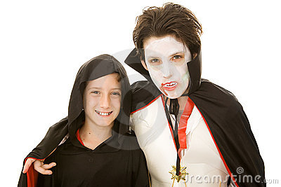 Halloween Kids - Costumed Boys