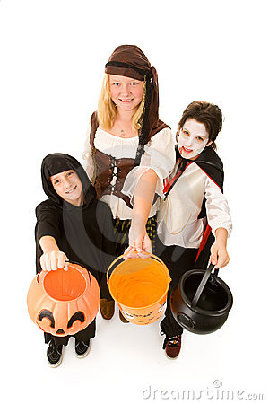 Halloween Kids Want Candy