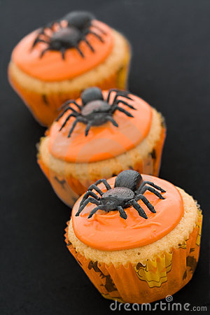 Halloween-kleine Kuchen