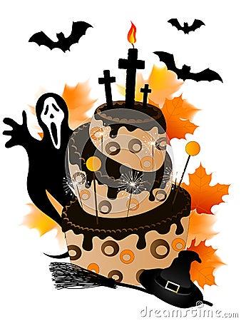 halloween kuchen stockbilder bild 31936644. Black Bedroom Furniture Sets. Home Design Ideas