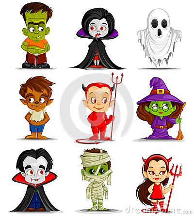 Free Halloween Monster Royalty Free Stock Photos - 33554978