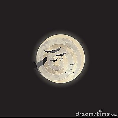 Halloween moonlight
