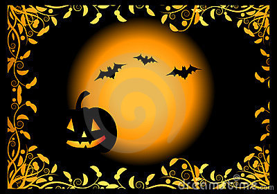 Halloween Night Background Royalty Free Stock Photo - Image: 6527875