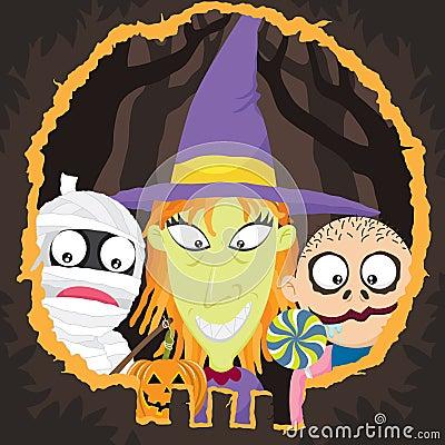 Halloween Night-Trick Or Treat
