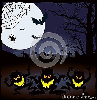 Free Halloween Nightmare Royalty Free Stock Photo - 6626025