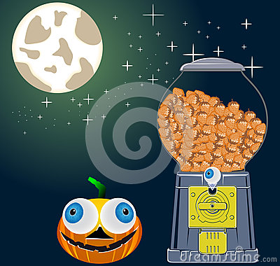 Halloween nightsky,