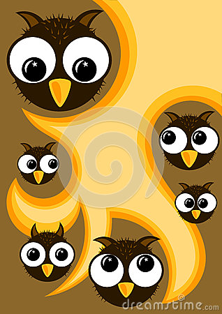 Halloween Owls Party Invitation