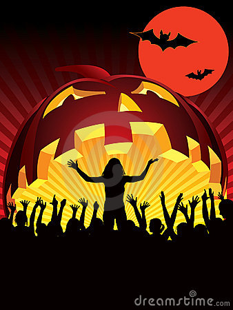 Free Halloween Party Royalty Free Stock Photography - 6765557