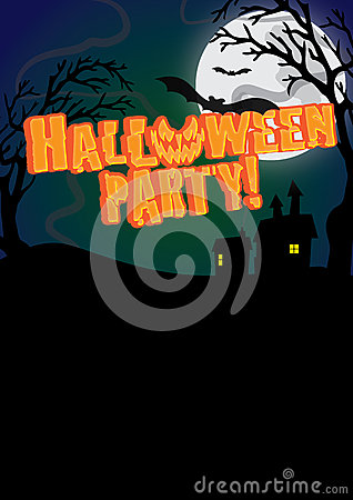 Halloween Party Invite Poster