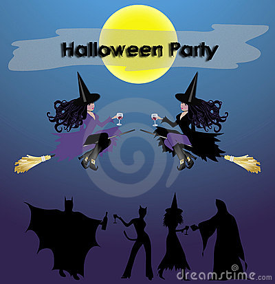 Halloween Party Sign