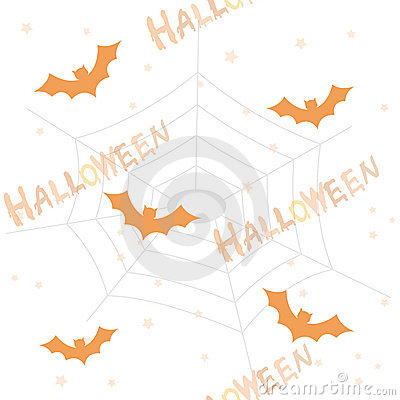 Halloween pattern / background