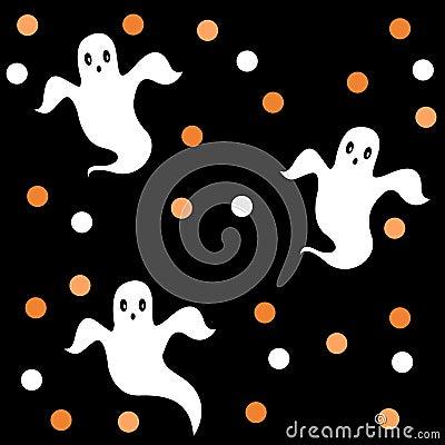 Halloween pattern / background