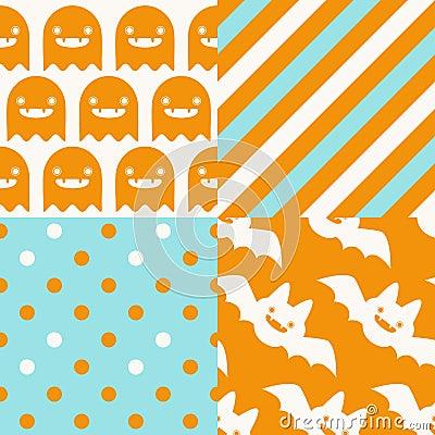 Halloween Patterns Stock Vector Image 59217669