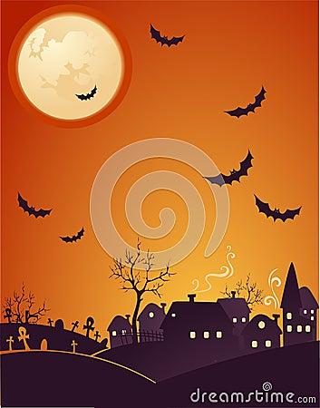 Halloween pomarańcze