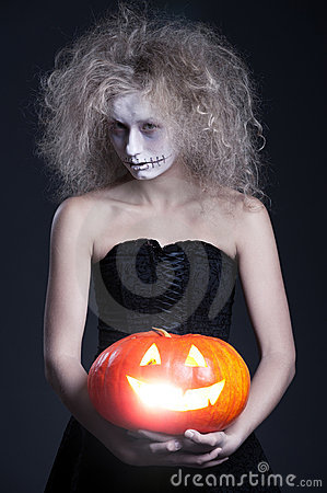 Free Halloween Portrait Of Ghost Royalty Free Stock Image - 16161566