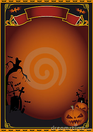 Halloween Party Flyer Poster Stock Photos, Images, & Pictures ...