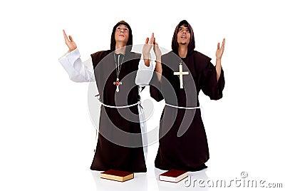 Halloween priests