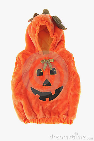 Free Halloween Pumpkin Costume Royalty Free Stock Images - 1367859