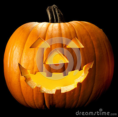 Free Halloween Pumpkin Head Royalty Free Stock Images - 26639389