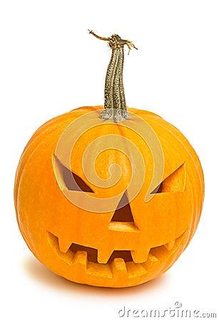 Halloween pumpkin (jack-o-lantern)