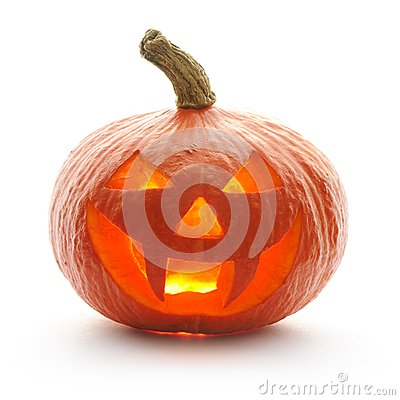 Free Halloween Pumpkin Jack O Lantern Royalty Free Stock Photo - 26697625