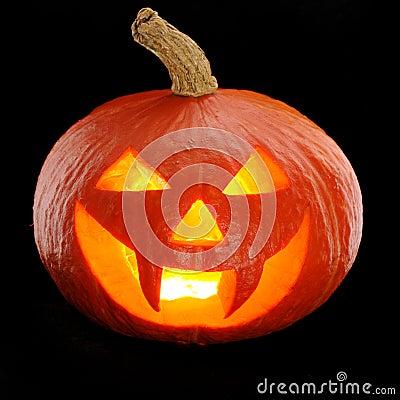Free Halloween Pumpkin Jack O Lantern Stock Photos - 26697633