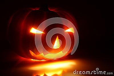 Halloween pumpkin (Jack-o -lantern)