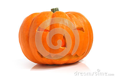 Halloween pumpkin (Jack-o'-lantern)