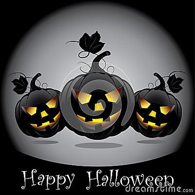 Halloween pumpkins.