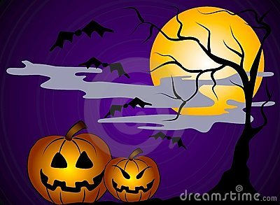 Halloween Pumpkins Clip Art 2