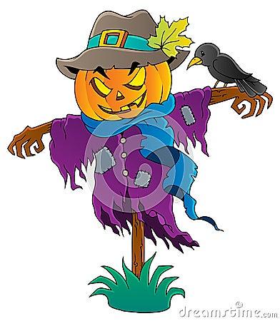 Halloween scarecrow theme image 1