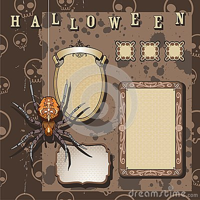 Halloween scrapbooking kit