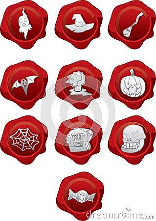 Halloween Seals Icons