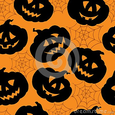 Halloween seamless background 1